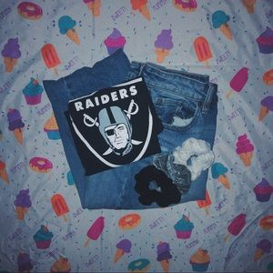 ☆ raiders shirt ☆
